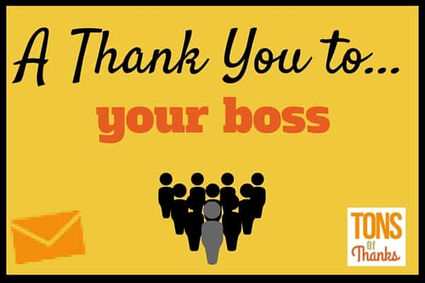 example of thank you speech for boss