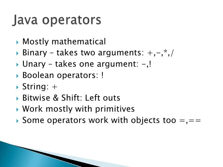 left shift operator in java example