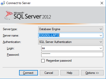 c# connect to sql server database example