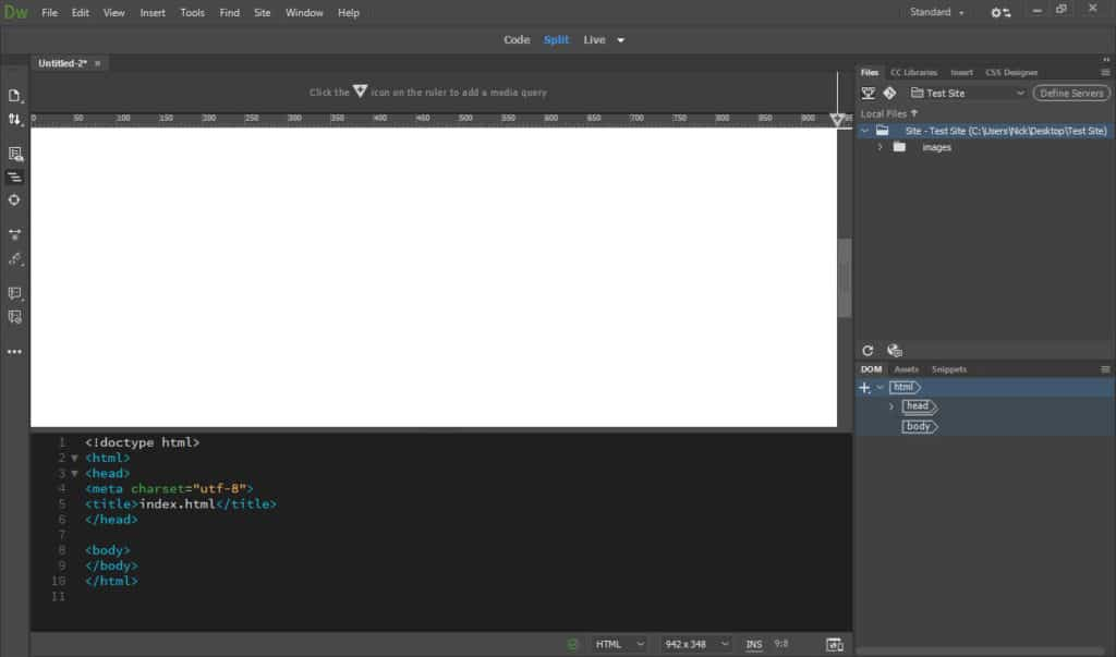 dreamweaver is an example of