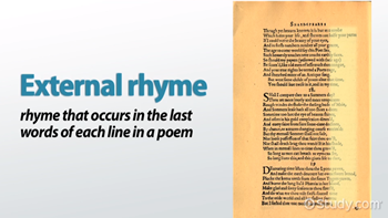 rhythm in poetry definition and example