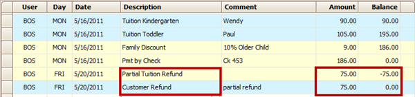 credit support amount calculation example