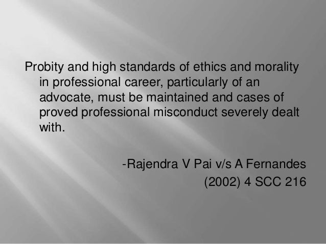 falsifying a record is an example of professional misconduct