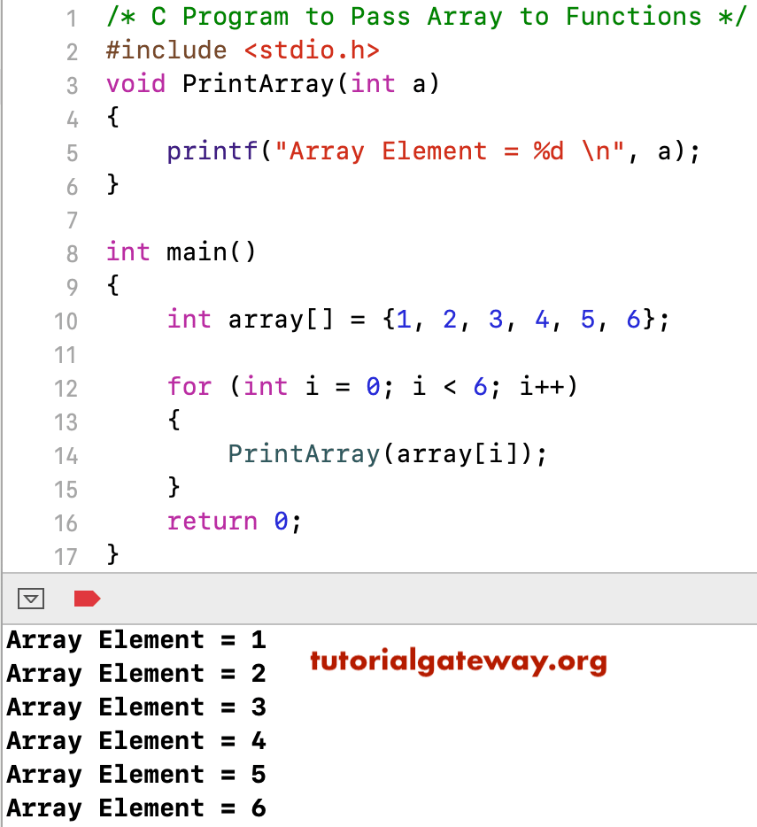passing char to function in c example