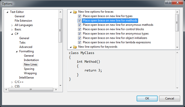 https openrequest example for visual studio