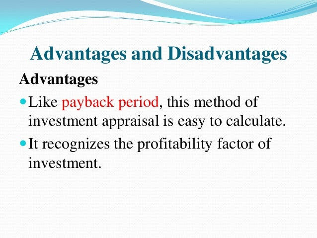 accounting rate of return example