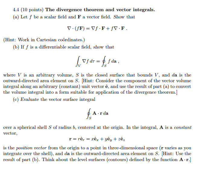 vector and scalar example problems