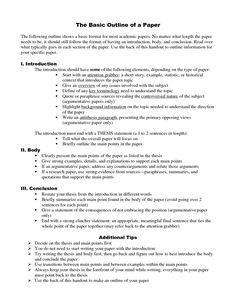 apa style topic proposal example