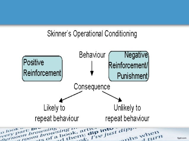 give an example of negative reinforcement