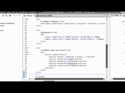 spring mvc login example with database connectivity in netbeans
