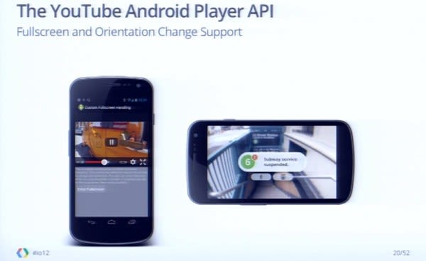 youtube live streaming api android example